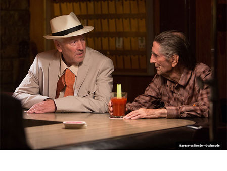 "Harry Dean Stanton und David Lynch in ""Lucky"""